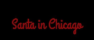 Santa in Chicago